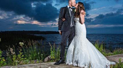 Jenna ja Mikko | Dokumentaarinen hääkuvaus Oulu